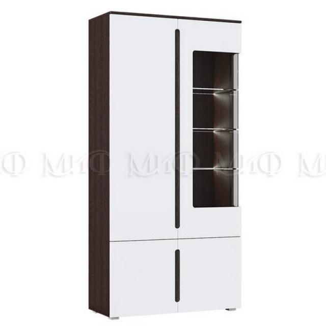 Модульная гостиная Ким - шкаф с подсветкой